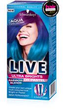 Schwarzkopf Live Semi Permanent Color  Rainbow Blends 111 AQUA COLLECTION