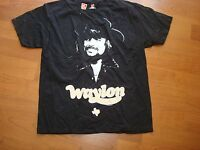 WAYLON JENNINGS TEXAS OUTLAW   LIC. 2012 DEADSTOCK shirt Sz SMALL