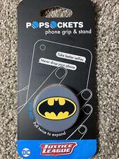 Batman PopSockets, DC Comics Justice League Phone Holder Grip - Authentic