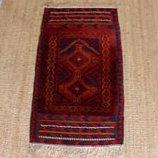 Afghan Rug 174 x 88.3 cm Red Carpet