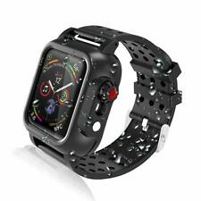 Waterproof Case with Screen Protector Soft Band for Apple Watch Series 4 (44mm)