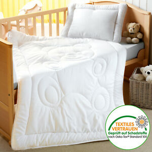Kinderbettenset 100x135 Bettdecke Kopfkissen Steppdecke Steppbett Kinderdecke