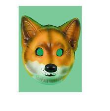 Plástico Fox Farm Animal Salvaje Mascarilla señor Fox Traje Accesorio
