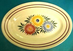Dish Oval Ceramic Of Creil Montereau Choisy-le-Roy