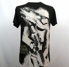 Mens Star Wars The Force Awakens First Order Stormtrooper Graphic T Shirt Size L