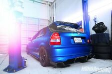 HONDA CIVIC 6 TH EK SPOON LOOK REAR BUMPER DIFFUSER FRP