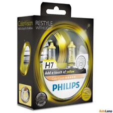 PHILIPS H7 12V 55W PX26d ColorVision Yellow 12972CVPYS2 car headlight bulb SET