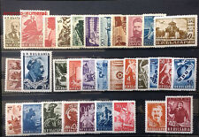 BULGARIA 1949 YEAR-SET + AIR MAIL, 32 STAMPS, MNH, FREE SHIPPING