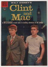 Four Color #889 FN/VF 7.0 higher grade Clint and Mac 1958 Alex Toth art Disney