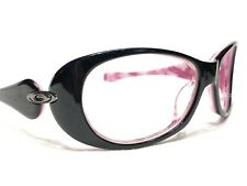 Oakley Dangerous Women's Black & Pink Rx Designer Sunglasses Frames 61/15~115
