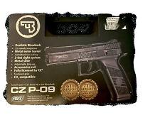 ASG CZ P-09 GBB Airsoft Pistol (Black) 17583