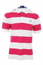 Fred Perry Regular Fit Striped Casual Polo Shirts for Men