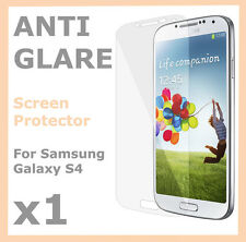 1 x Anti Glare Matte Screen Protector Film for Samsung Galaxy S4 SIV i9500 i9505