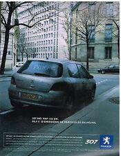 Publicité Advertising 2004 Peugeot 307 HDi