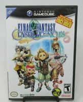 FINAL FANTASY: CRYSTAL CHRONICLES GAME FOR NINTENDO GAMECUBE, DISC, CASE, MANUAL