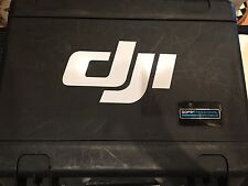 "DJI Decal 9"" Case Decal Phantom Vision Inspire Quad Pelican Go Pro ANY COLOR"
