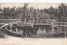 B79106 estanque en chapultepec   mexico scan front/back image