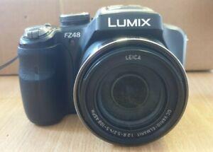 Panasonic LUMIX DMC-FZ48 12.1MP Digital Camera - Black (Z1)