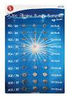30 Assorted Alkaline Watch Battery Button Cell Coin Batteries Calculator Camera