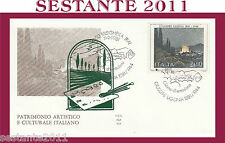 ITALIA FDC ALA 534 GIUSEPPE UGONIA 1981 ANNULLO SPECIALE BRISIGHELLA H315
