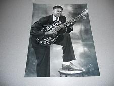 BB King Blues Guitar Live Vintage 11x14 Candid Promo Photo #2