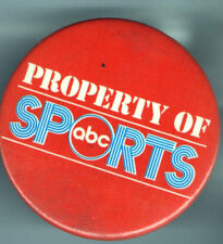 Property Of ABC SPORTS vintage  pin