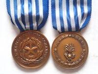 Medaglia al merito di lungo comando della Finanza in bronzo