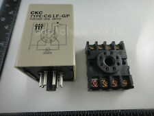 C61F-GP AC 220V 8 Pin Liquid Floatless Level Switch Controller With Base