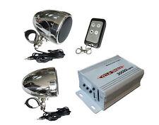 Motorcycle Amplified Stereo Weatherproof Speakers FM
