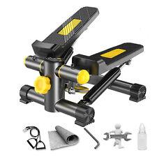 Mini Swing Stepper mit Digitaler Anzeige Trainingsbänder Fitnessgeräte DEU F3I8