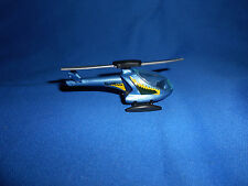 HELICOPTER AIRCRAFT D-HELL Blue Plastic Toy Vehicle Kinder Surprise Egg 1996