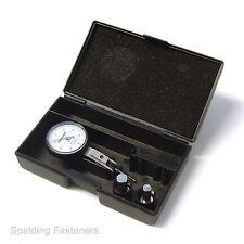 Silverline 0 - 0.8mm High Precision Engineering Metric Dial Test Indicator Gauge