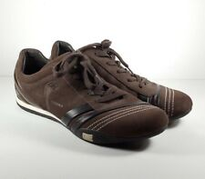 Carroll Shelby Casual Leather Suede Brown Shoes Size 10