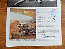 1962 GM Harrison Air Conditioning Ad Buick Chevrolet Oldsmobile ?
