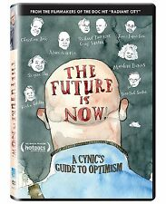 The Future Is Now!: A Cynic's Guide to Optimism (DVD, 2012) Paul Ahmarani