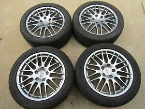 Porsche Cayenne 958 92A 2015 Factory BBS Alloy Wheels Rims Set 275 45 20 Inch
