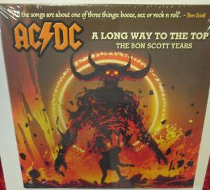 "AC/DC - A long way to the Top (2020)  UK 2x 10"" ORANGE SPLATTER VINYL   OVP"
