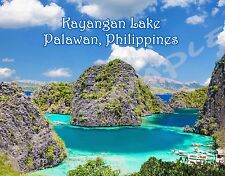 Philippines - KAYANGAN LAKE - PALAWAN - Travel Souvenir Flexible Fridge Magnet