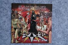 Iron Maiden - Dance of the Death CD Album signed / autograph / signiert
