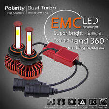 2x 9005 HB3 6000K 980W 147000LM 4-Side LED High Beam Headlight Kit White Bulbs