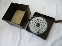 Vintage Farlows Python Fly reel & original box.
