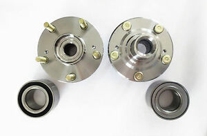 Front Wheel Hub & Bearing Set For  Civic Si 04-05 / Acura RSX 02-06 EXC. TYPE S