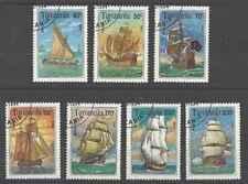 Timbres Bateaux Tanzanie 1499/1505 o lot 27369