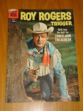 ROY ROGERS AND TRIGGER #113 VG (4.0) 1957 DELL WESTERN COMIC A