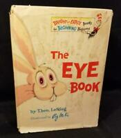 Dr. Seuss THE EYE BOOK 1968 true 1st ED w/DJ suess LeSieg RARE
