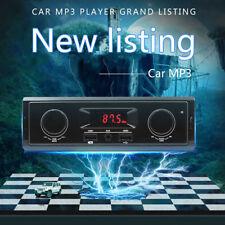 Car Stereo Radio Audio MP3 Player 1 DIN 4x60W USB FM AUX Bluetooth Single Din