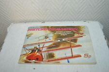 LIVRE IMAGE HISTORE AVIATION BOOK BROOKE BOND PICTURE CARD HISTORY OF AVIATION