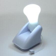 Light Bulb Stick Up  Battery Operated Portable Night Handy Cabinet Closet Lamp