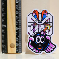 The Hundreds x The Seventh Letter Adam Bomb 8x6 cm decal sticker #4337