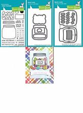 Lawn Fawn HOW YOU BEAN? Clear Stamps & Lawn Cuts Die SHAKER Add-on LF1326 LF1327